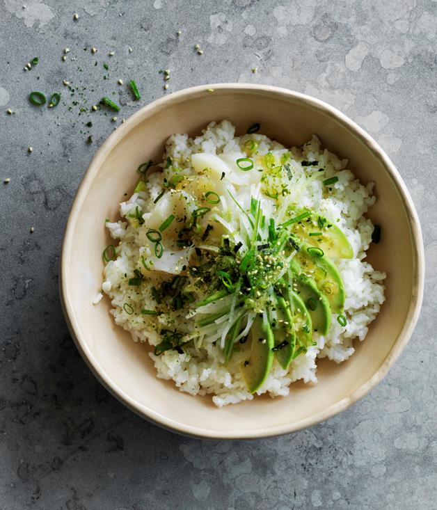 "[Scallop poke with pickled ginger dressing](http://www.gourmettraveller.com.au/recipes/browse-all/scallop-poke-with-pickled-ginger-dressing-12877''|target=""_blank"")"
