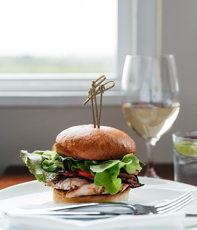 **The club, The Louise, Barossa Valley** Hotel club sandwiches are taken very seriously at _Gourmet Traveller_ (hey, we're the only media outlet to audit them annually). The Louise in the Barossa holds this year's title for Australia's best: a chubby brioche bun with charred chicken breast, Linke's Barossa bacon and a mayo that's been sweetened with crème fraîche and spiced with Newman's horseradish.  _[The Louise](http://www.thelouise.com.au/), 375 Seppeltsfield Rd, Marananga, SA, (08) 8562 2722_  Photography: Jonathan Van Der Knaap