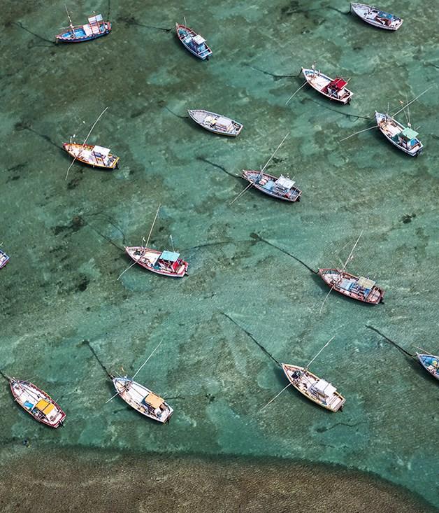 World view: Weligama Bay, Sri Lanka