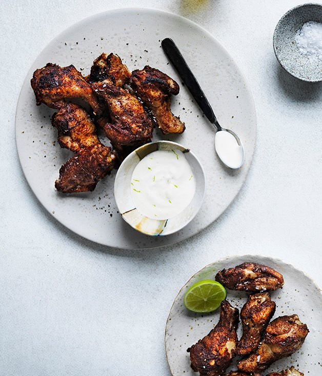 Jamaican chicken wings
