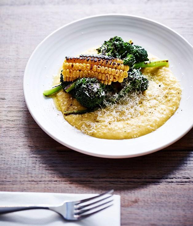 Corn and broccolini