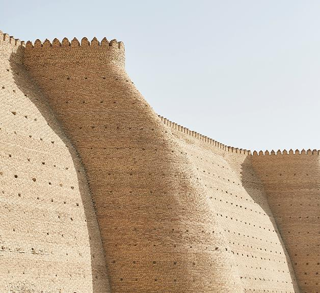 The Ark Fortress in Bukhara, Uzbekistan, one of many architectural wonders along the Silk Road.
