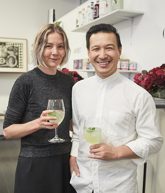 **Makers** Dan Yee of Artificer Coffee (right) withTracey Hein.