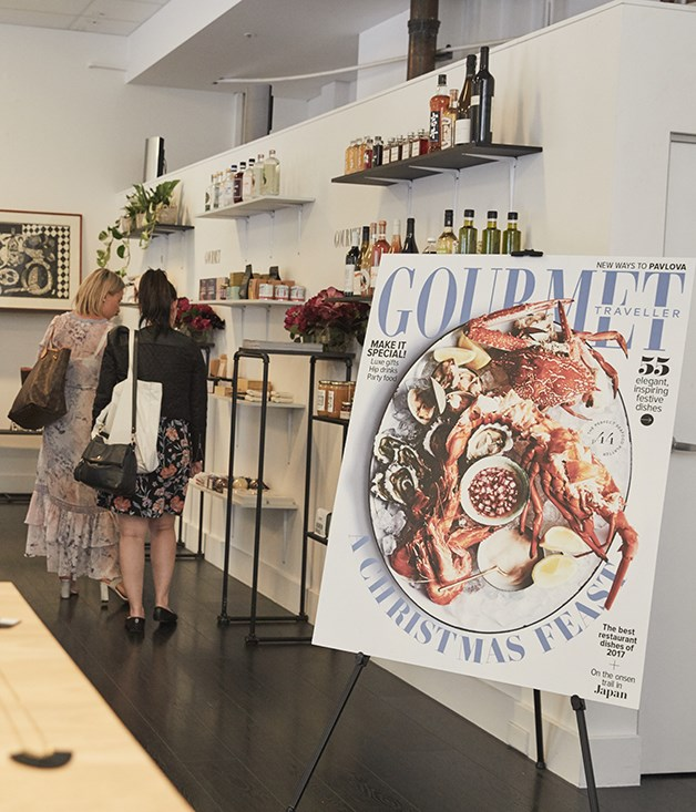 **Christmas has come early** On 20 November, Gourmet Traveller launched their second Christmas Boutique with good friends Sorry Thanks I Love You, inviting our closest friends to STILY's store in The Rocks for a sneak peek at the very special food, drinks and objects on offer.