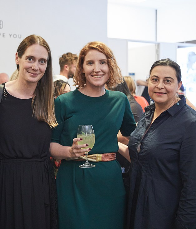 **Gourmet Traveller team** _GT_'s Editor Sarah Oakes, News Editor Maggie Scardifield and Publisher Fiorella Di Santo.