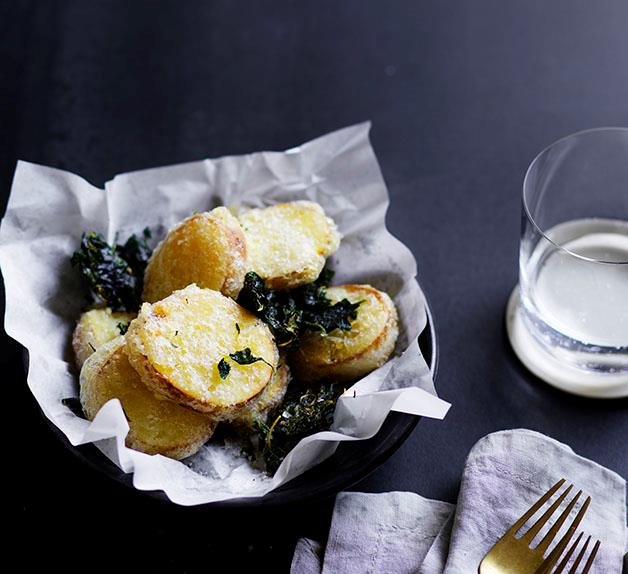 Potato scallops