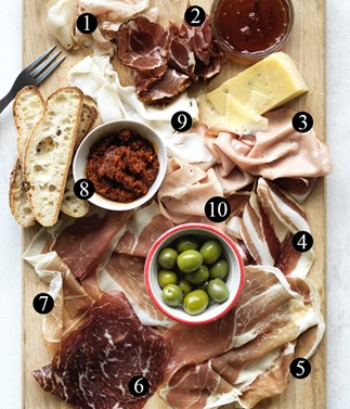 The 10 parts of a great salumi board