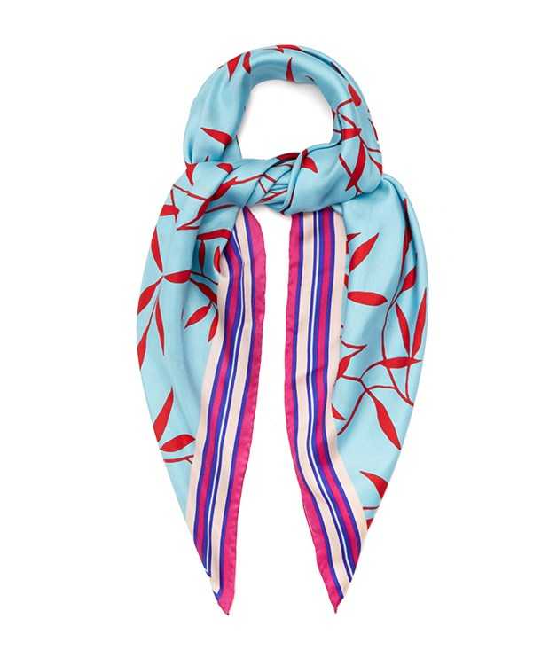 **Diane von Furstenberg shelton-print silk scarf** With summer in full swing, a silk scarf makes a timely (and timeless) gift. Look no further than this aqua-blue number by Diane von Fürstenberg. Full of that signature DVF vibrancy, the square design can be worn as a chic headscarf, necktie, handbag accessory or draped over shoulders. The ultimate multi-tasker.  _$258, [matchesfashion.com/au](https://www.matchesfashion.com/au/products/Diane-Von-Furstenberg-Shelton-print-silk-scarf-1183337)_