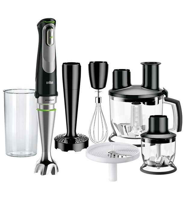 **Braun MultiQuick 9 Stick blender** Summer is all about relaxing and taking it easy, so make sure your Christmas gifts got the memo. Featuring first-to-market ACTIVEBlade technology, the Braun MultiQuick 9 stick blender takes the hard work out of puréeing, slicing, dicing, whisking and mashing delivering velvet-smooth texture. Every time. Even with hard foods. All our Christmases have come at once.  _$249, [braunhousehold.com/en-au](http://www.braunhousehold.com/en-au/all-products/food-preparation/mq9/multiquick-9-hand-blender-mq-9087x-0x22111215)_