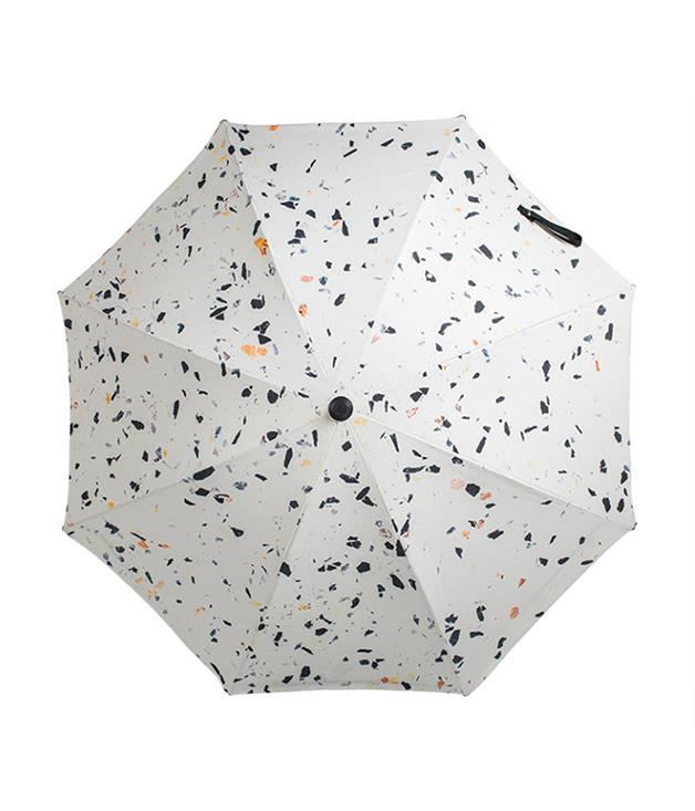**Basil Bangs sun umbrella terrazzo** A summer essential, the Basil Bangs sun umbrella has UPF 50 rating so you can enjoy lounging on the sand or a long summer lunch on the verandah. Emblazoned with a terrazzo print, being sun-smart has never looked so chic.  _$289, [top3.com.au](http://top3.com.au/categories/outdoor-and-pet/umbrellas---sun/sun-umbrellas/bup-17-0207#basil-bangs-sun-umbrella-terrazzo)_