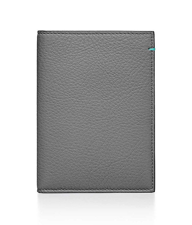 **Tiffany & Co. Silver Grey Passport Cover** Made in Italy using grey-grain calfskin leather and boasting three interior credit card slots, there's no denying Tiffany & Co. know how to produce top-notch leather goods. Getaways just got more dapper.   _$370, [tiffany.com.au](http://www.tiffany.com.au/accessories/tiffany-leather-collection/passport-cover-GRP09838?fromGrid=1&origin=browse&trackpdp=bg&tracktile=new&fromcid=3779733&trackgridpos=18)_