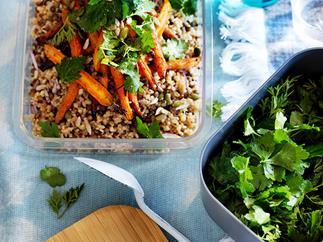 Carrot and burghul salad