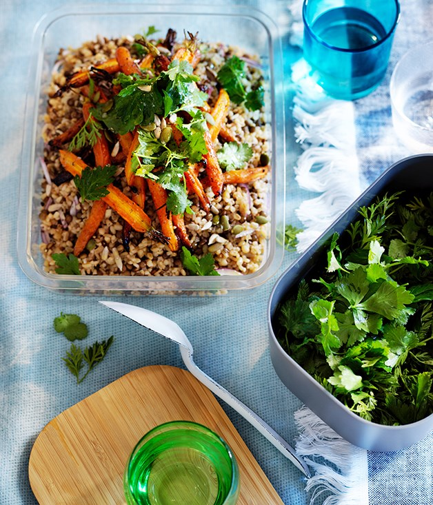 """[Carrot and burghul salad](http://www.gourmettraveller.com.au/recipes/browse-all/carrot-and-burghul-salad-12912