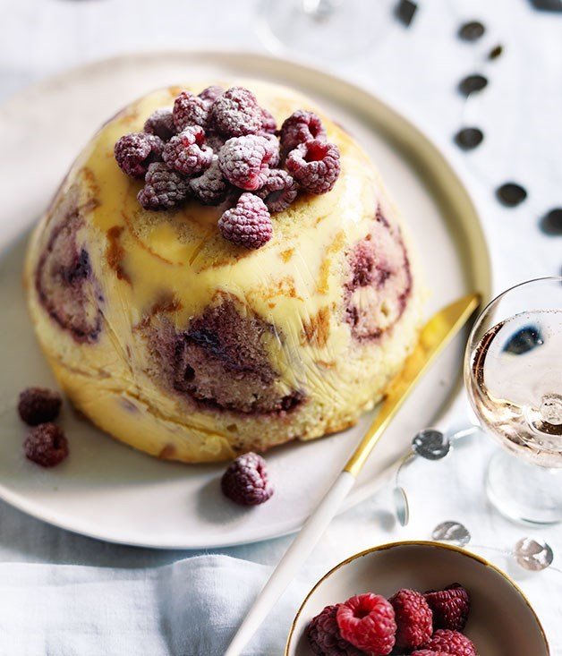 "[**Jam roll trifle**](https://www.gourmettraveller.com.au/recipes/browse-all/jam-roll-trifle-12380|target=""_blank"")<br><br> Here we have a traditional trifle turned inside out and upside down. Try it and we reckon you'll be just as enamoured. As with the traditional version, it's best made a day or two ahead."