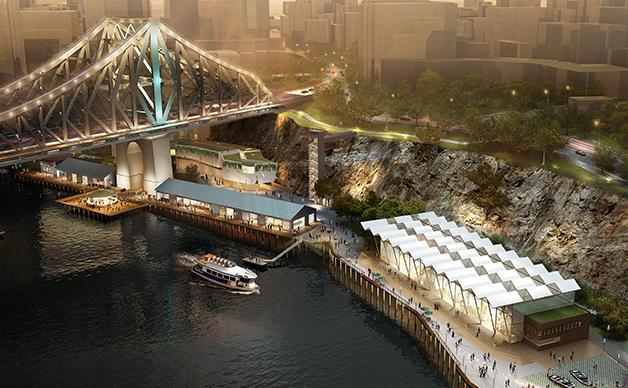 Eight new restaurants and an Art Series hotel opening on the Brisbane River in 2018