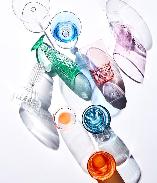 Retro glassware