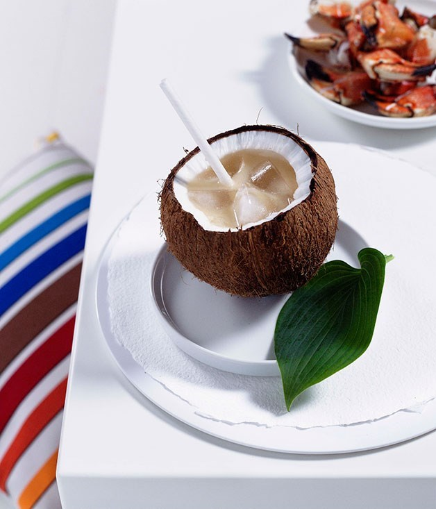 "[**Coconut and ginger highball**](https://www.gourmettraveller.com.au/recipes/chefs-recipes/coconut-and-ginger-highball-7311|target=""_blank"")"