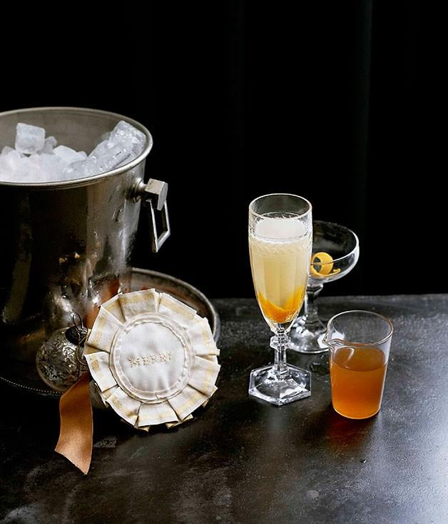 "[**Lillet, burnt orange and vanilla Mimosa**](https://www.gourmettraveller.com.au/recipes/browse-all/lillet-burnt-orange-and-vanilla-mimosa-10608|target=""_blank"")"