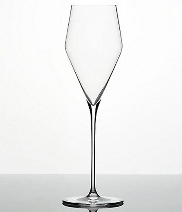 **Zalto Champagne glasses** Have you ever seen a prettier Champagne glass? This Christmas I'll be carefully wrapping up a pair of these elegant Zalto flutes for a friend who has just bought a new place. They were nominated for the pop-up by [Caitlyn Rees, the sommelier at Fred's](http://www.gourmettraveller.com.au/restaurants/restaurant-galleries/2017/8/the-winners-2018-gourmet-traveller-restaurant-guide-awards/2018-sommelier-of-the-year-caitlyn-rees-freds-sydney/) in Sydney. I think they're the perfect Christmas and house-warming gift combined.  Brooke Donaldson, art director  _$118; [sorrythanksiloveyou.com/zalto-champagne](http://sorrythanksiloveyou.com/zalto-champagne)_