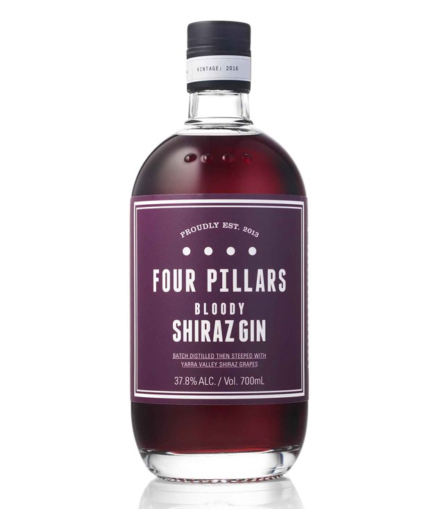 **Four Pillars Bloody Shiraz Gin** My husband and I tried this beautiful craft gin while on holiday in Melbourne and have been obsessed with it ever since. Four Pillars recommends it in a summery concoction called The Bloody Jasmine - made with Campari, dry Curacao, fresh lemon juice and orange bitters. It's insanely pretty and, more importantly, insanely delicious.  Liz Elton, creative director  _$85;_ [sorrythanksiloveyou.com/four-pillars-shiraz](http://sorrythanksiloveyou.com/four-pillars-shiraz)