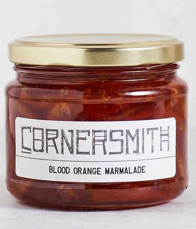 **Cornersmith Blood Orange Marmalade** Specialists in all things pickled and preserved, Cornersmith café in Sydney creates jams and marmalades that are packed with fruit and little else. This blood orange marmalade would make an irresistible ham glaze, but a dollop on scones, toast or in a Breakfast Martini also goes down a treat.  _$16 for 300ml, [sorrythanksiloveyou.com/cornersmith-marmalade](http://sorrythanksiloveyou.com/cornersmith-marmalade)_