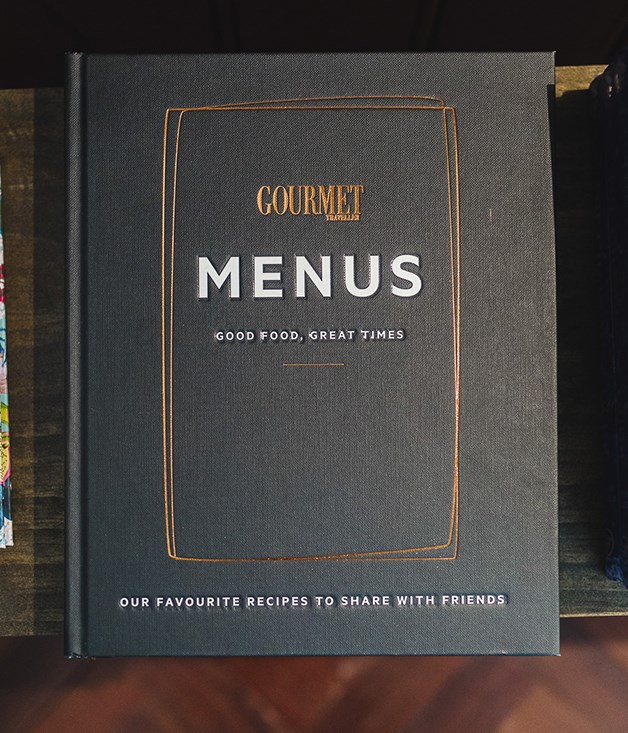 **Gourmet Traveller Menus** Our first hardcover book is a collection of menus suited to every occasion, dedicated to the fine art of entertaining.  _$60, [sorrythanksiloveyou.com/menus-gourmet-traveller](http://sorrythanksiloveyou.com/menus-gourmet-traveller)_  Photo by Rowan Jackson.