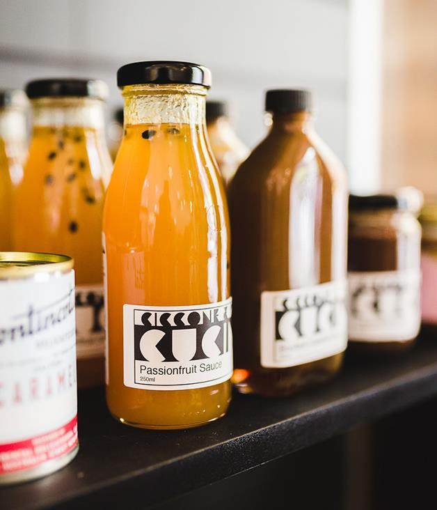 **Ciccone and Sons Gelateria Passionfruit Sauce** Whether you're glazing the pavlova, dressing up your morning yoghurt or in need of a standby dessert, Redfern's favourite gelateria has you covered with this tangy treat.  _$16 for 250ml, [sorrythanksiloveyou.com/ciccone-passionfruit](http://sorrythanksiloveyou.com/ciccone-passionfruit)_  Photo by Rowan Jackson.