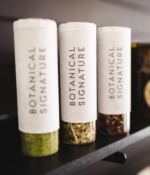 "**Botanical Signature Rainforest Brew Tea** Nothing says ""unwind"" quite like a warm cuppa. Curl up on the couch with this invigorating blend of organic ginger, lemongrass, orange peel and lemon myrtle, and kiss the holiday season stress goodbye.  _$25 for 50gm, [sorrythanksiloveyou.com/beverages/tea/rainforest-brew](http://sorrythanksiloveyou.com/beverages/tea/rainforest-brew)_  Photo by Rowan Jackson."