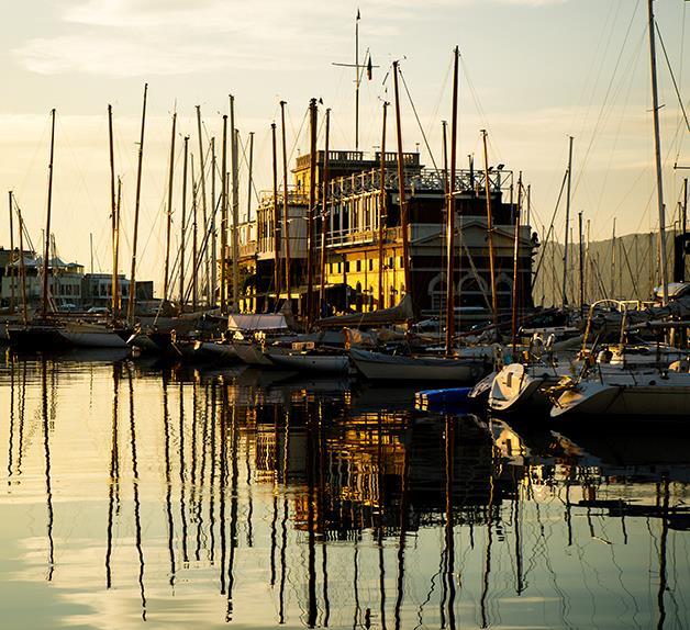 Yacht Club Adriatico, Trieste, Italy.