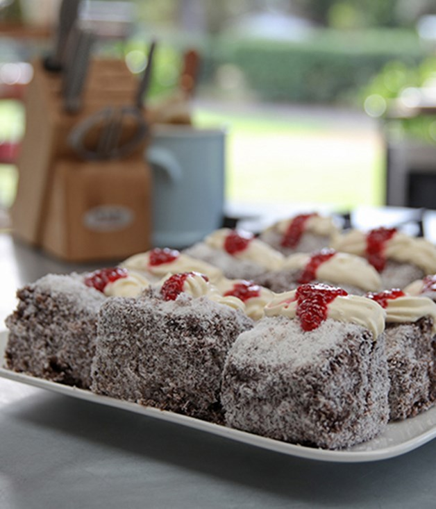 **Chocolate lamingtons** How do you improve on the classic lamington? Add extra chocolate, naturally.  Click [here](https://www.lifestylefood.com.au/recipes/25808/chocolate-lamingtons?_ga=2.242410178.1369198380.1512968640-1188125245.1510183956) for the recipe.
