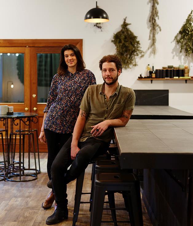 Dier Makr's Sarah Fitzsimmons and Kobi Ruzicka