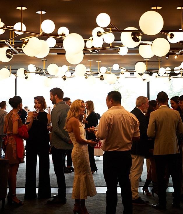 Inside Jackalope, the setting for a Stella Artois dinner ahead of the 2018 Portsea Polo.
