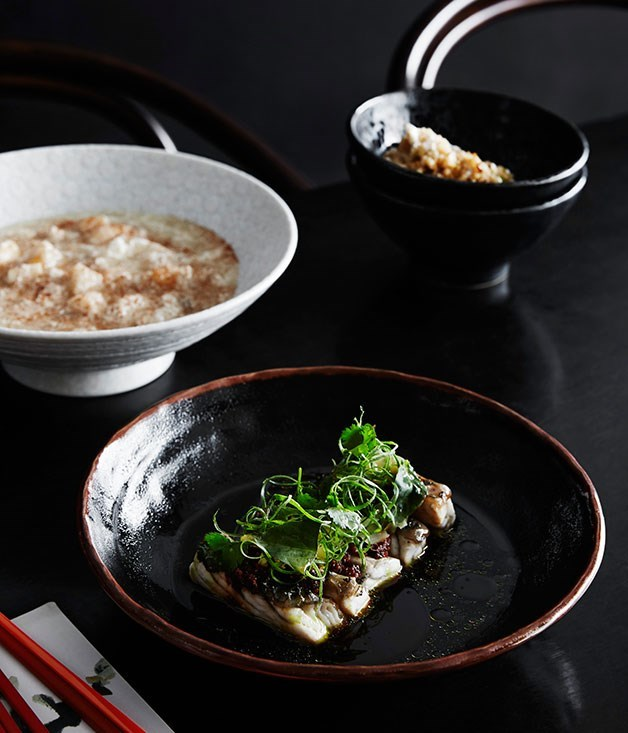 "[**Fujian-style scallop and spanner crab fried rice**](https://www.gourmettraveller.com.au/recipes/chefs-recipes/fujian-style-scallop-and-spanner-crab-fried-rice-8308|target=""_blank"") <br><br> A seafood fried rice inspired by recipes from the South-Eastern Chinese province Fujian. With rich and comforting scallop and spanner crab sauce, its lengthier prep time will easily be forgiven."