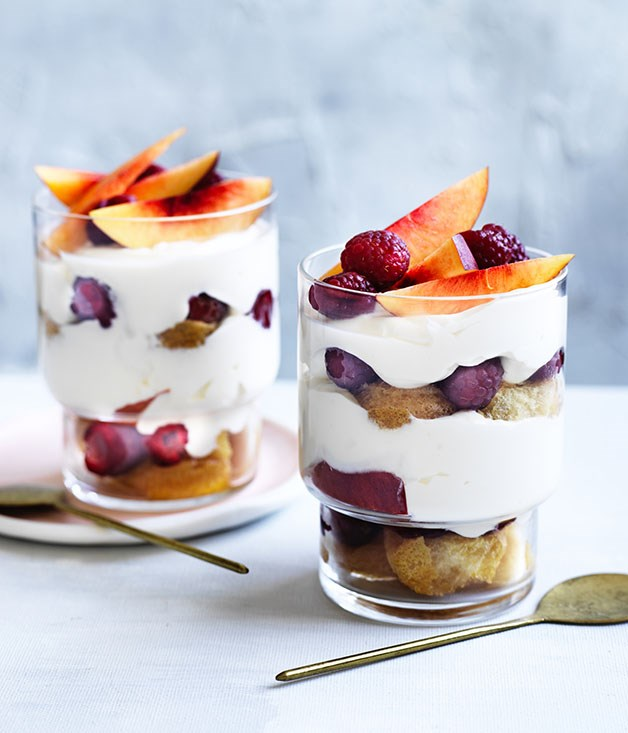 Summer Trifle Recipe :: Gourmet Traveller