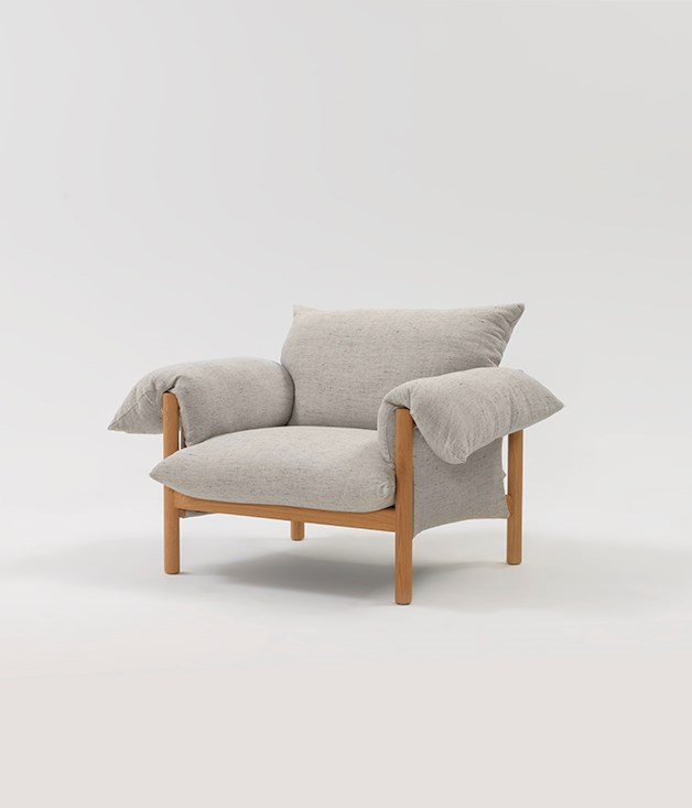 **Jardan Wilfred armchair** While the gift of time remains an impossible ask in 2018, time to oneself is within reach. And that's especially true when a Jardan armchair is nearby. Made in Australia, the solid oak American frame and feather and down seat back will make an afternoon curled up with a book or the latest copy of _Gourmet Traveller_ an even dreamier prospect._[jardan.com.au](https://www.jardan.com.au/product/wilfred-armchair/), approx. $4,500._