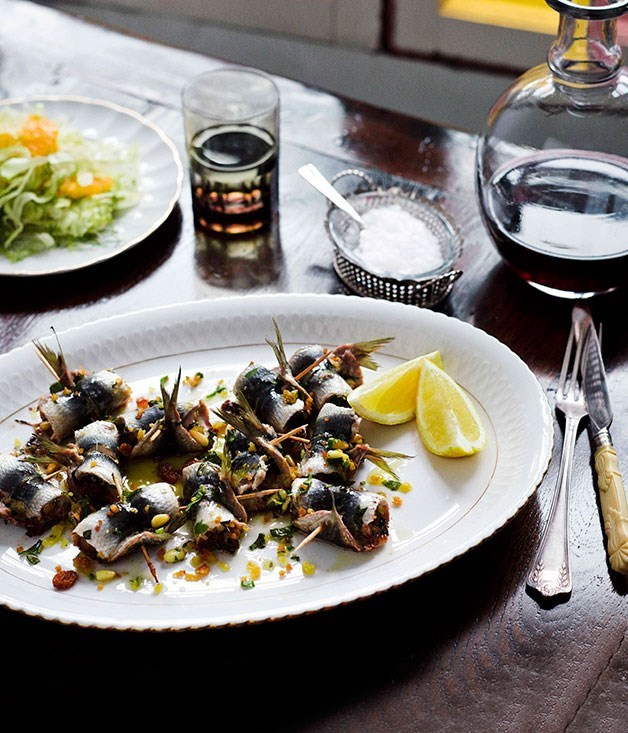 **Stuffed sardines**