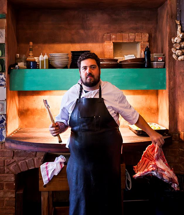 Duncan Welgemoed chef and owner of Africola, Adelaide.