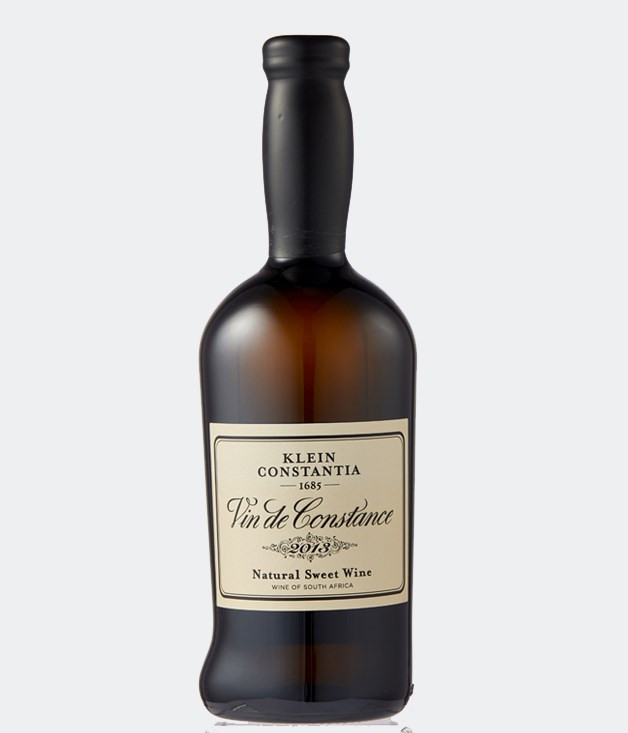 **2013 Klein Constantia Vin de Constance** One of the world's great sweet wines, with a history dating back to the 17th century, this late-harvested muscat is a perfect balance of golden lusciousness and juicy, spicy citrus flavours. It'll make a delicious nightcap on Valentine's Day._[airoldifinewines.com.au](https://www.airoldifinewines.com.au/product/klein-constantia-vin-de-constance-2013/), $142 for 500ml_