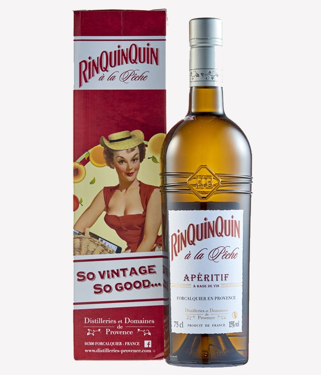 **Rinquinquin apéritif** Toast stonefruit season with Rinquinquin. Made in Provence, the ripe and ready white wine aperitif is infused with seven varieties of peach and peach leaves, meaning your trifle and fruit salads are about to taste a lot more like summer. It also goes well with foie gras - bonus. _[danmurphys.com.au](https://www.danmurphys.com.au/dm/home.jsp;jsessionid=E36ECD216E47BEC58917222D0DAED93A.ncdlmorasp1306?bmUID=m5iL76f),$40.50 for 750ml._