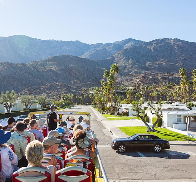 World view: Palm Springs, California