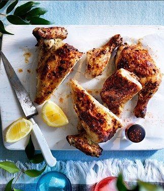 Yoghurt roast chicken
