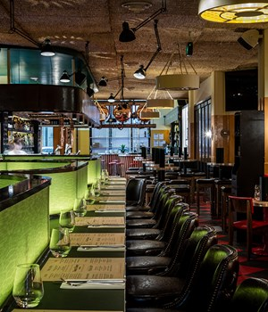A tour of Natural History Bar & Grill