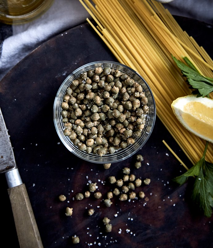 Long Lane's small capers, grown in Victoria's High Country, are used by top restaurants including Grossi Florentino and Provenance.