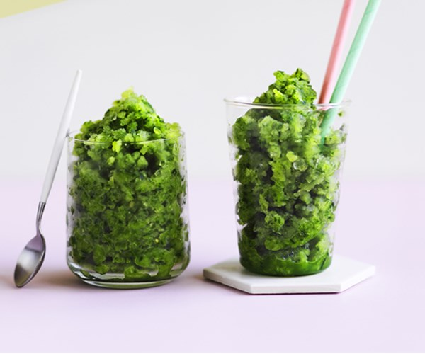 "[Cucumber-gin slushie](http://www.gourmettraveller.com.au/recipes/browse-all/cucumber-gin-slushie-12948|target=""_blank"")"