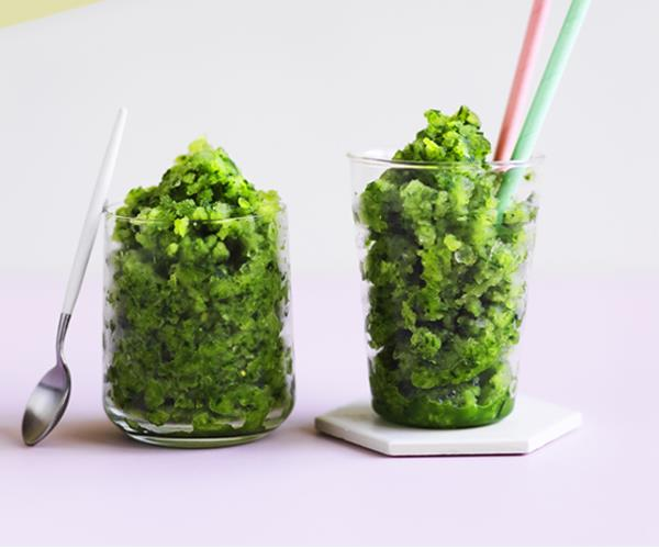 "**[Cucumber-gin slushie](https://www.gourmettraveller.com.au/recipes/browse-all/cucumber-gin-slushie-12948|target=""_blank"")** <br/> Why didn't we think of this before?"