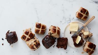 The history of the hot cross bun