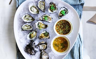 14 ways to dress oysters