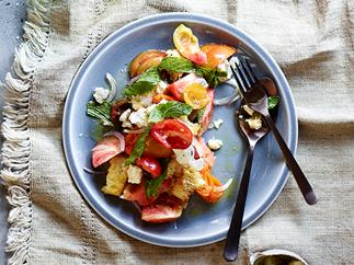 Tomato and bread salad