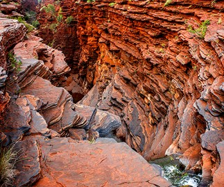 World View: Joffre Gorge, Western Australia