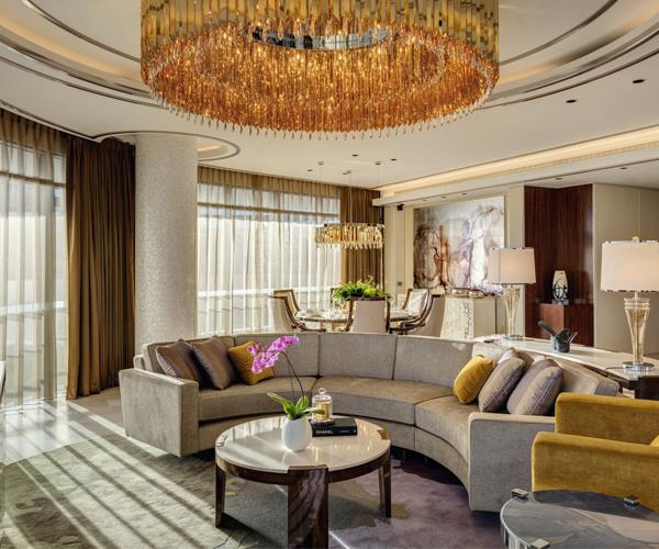 The penthouse suite at The Darling Gold Coast